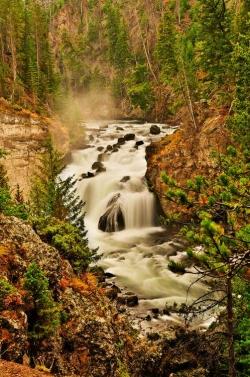 Firehole Falls